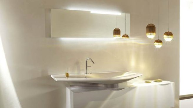 luminaire miroir salle de bain. Black Bedroom Furniture Sets. Home Design Ideas